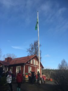 grönflagghissad